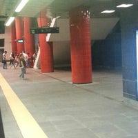 Photo taken at Metro Chelas [VM] by Pedro B. on 7/16/2014