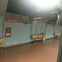 Photo taken at Metro Cabo Ruivo [VM] by Pedro B. on 7/16/2014