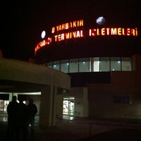 Photo taken at Diyarbakır Inter-City Bus Terminal by Veli G. on 1/16/2013