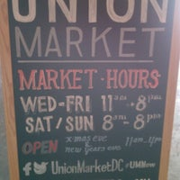 Photo taken at Union Market by Marriop on 12/8/2012