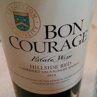 Photo taken at Bon Courage Winery by @eu_leon on 7/21/2016