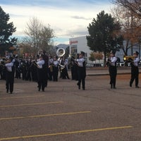 Photo taken at Littleton High School by Anson N. on 10/27/2012