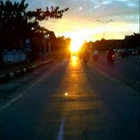 Photo taken at Jalan Urip Sumoharjo by Chakke Shake B. on 5/12/2013
