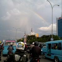 """Photo taken at Universitas Bosowa """"45"""" Makassar by Chakke Shake B. on 5/31/2013"""