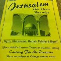 Photo taken at Jerusalem Pita Hot by Van S. on 12/6/2012