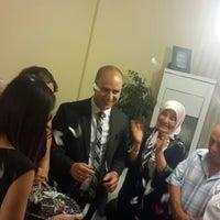 Photo taken at Zeynep & Ahmet Çifti Nişan Merasimi by Mustafa C. on 6/14/2014