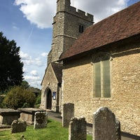 Photo taken at St Mary's Kennington Church by Michael S. on 8/14/2017