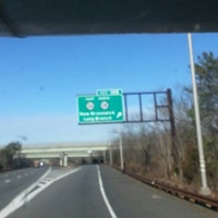 Photo taken at Garden State Parkway by mike d. on 1/19/2013