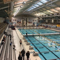 Photo taken at University Aquatic Center by Ken S. on 2/4/2017