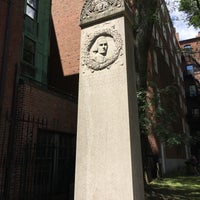 Photo taken at John Hancock Grave by Ken S. on 7/30/2017