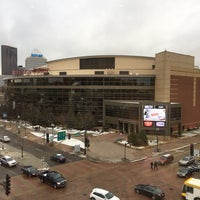 Photo taken at Holiday Inn St. Paul Downtown by Ken S. on 11/23/2016