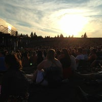 Photo taken at Sleep Country Amphitheater by Shannon C. on 8/14/2013