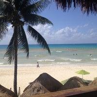 Photo taken at Hotel Colibrí Beach by Vicky J. on 7/19/2014