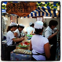 Photo taken at Feria de Mataderos by Fabian L. on 9/16/2012