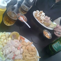 Photo taken at Cevicheria Geminis by Paul R. on 9/22/2013