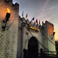 Photo taken at Medieval Times Dinner & Tournament by Paige on 3/2/2013