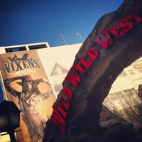 Photo taken at Wild Wild West Casino by Paige on 3/31/2013