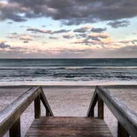 Photo taken at PAFB South Beach by Paige on 1/19/2014