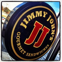 Photo taken at Jimmy John's by Paige on 1/24/2013