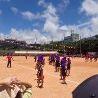 Photo taken at 大山小学校 by Manabu T. on 7/6/2014
