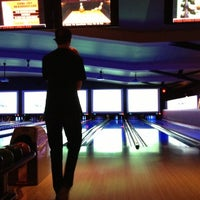 Photo taken at Lucky Strike Lanes by Janet W. on 12/28/2012