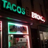 Photo taken at Tacos El Bronco Restaurant by Richard on 1/5/2013
