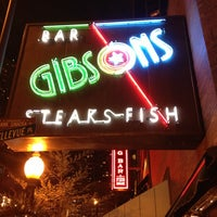 Photo taken at Gibsons Bar & Steakhouse by Jenna J. on 12/4/2012