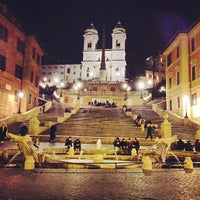 Photo taken at Piazza di Spagna by Gianfranco R. on 3/23/2013