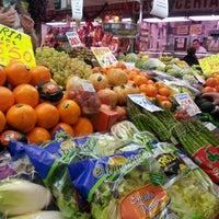 Photo taken at Mercado Villa de Vallecas by Isabel S. on 12/24/2012