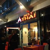 Photo taken at Just Thai by Katrina Joy C. on 2/23/2013