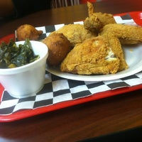Photo taken at Chucks famous Chicken & Seafood by Marcus E. on 12/21/2012