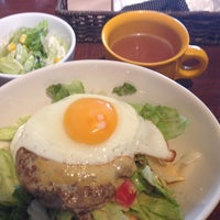 Photo taken at Jugar cafe by Yoshito G. on 6/24/2013