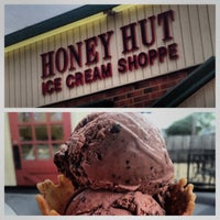 Photo taken at Honey Hut Ice Cream Shoppe by Rich G. on 7/3/2013