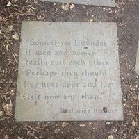 Photo taken at Katharine Hepburn Garden by Ciprian T. on 3/10/2013