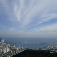 Photo taken at 황령산 산책로 by ClOEH7 O. on 11/25/2012