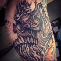 Photo taken at Square City Tattoo by Stevan M. on 10/16/2013