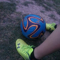 Photo taken at YAKS Soccer Complex by Robert on 6/8/2014