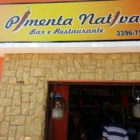 Photo taken at Pimenta Nativa Bar e Restaurante by Markhus L. on 10/30/2013