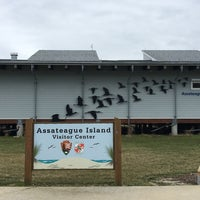 Photo taken at Assateague Visitor Center by Shailesh G. on 2/19/2018