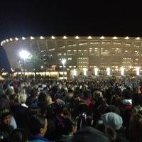 Photo taken at Cape Town Stadium by Gideon G. on 5/8/2013