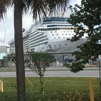 Photo taken at Port Everglades by James T. on 12/10/2012