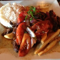 Photo taken at Chimu Peruvian Cuisine by Alejandra R. on 7/27/2013