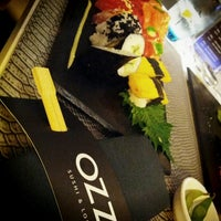Photo taken at OZZO Sushi & Lounge by Kéoma V. on 11/8/2013