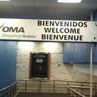 Photo taken at Acapulco International Airport (ACA) by Debi L. on 1/15/2014