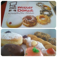 Photo taken at Mister Donut by Methawut A. on 9/4/2013