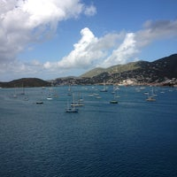 Photo taken at Charlotte Amalie Harbor by Jimmi M. on 3/18/2013