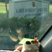 Photo taken at Lake Forest College by Sharon M. on 8/13/2014