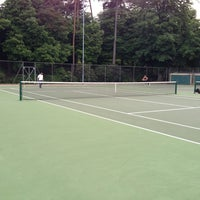Photo taken at Bournemouth Gardens Tennis Centre by Tariq A. on 7/1/2013