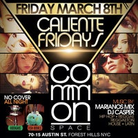 Photo taken at Common Space by DJCASPERNYC .. on 3/5/2013