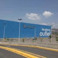 Photo taken at Las Plazas Outlet Guadalajara by Luis Alberto C. on 5/26/2013